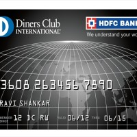 HDFC Bank Diners Club Black640x480