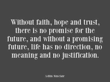 Hope, Trust and Faith