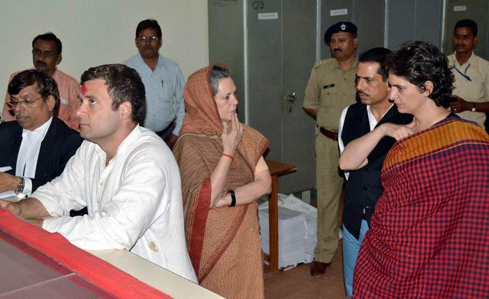 rahul filing nomination