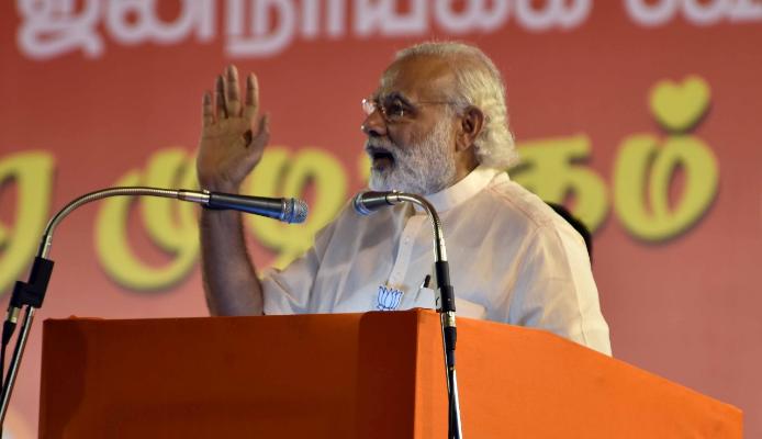 Modi in Tamil Nadu