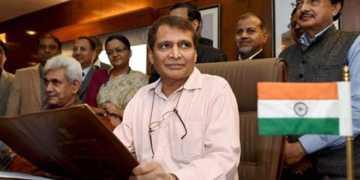 railway budget merger suresh prabhu