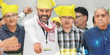 योगेन्द्र यादव प्रशांत भूषण स्वराज इंडिया