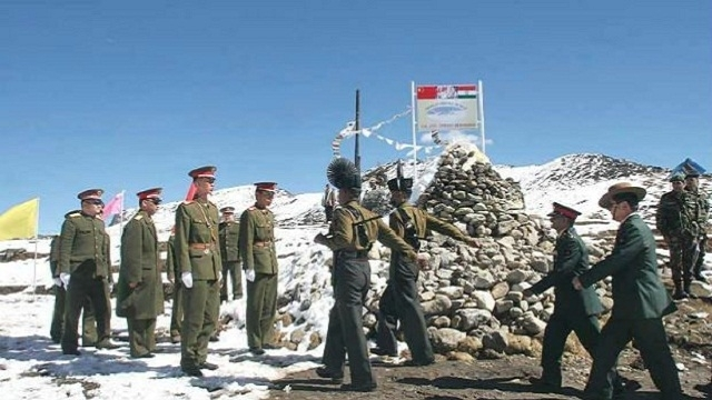 chinese soldiers indian army