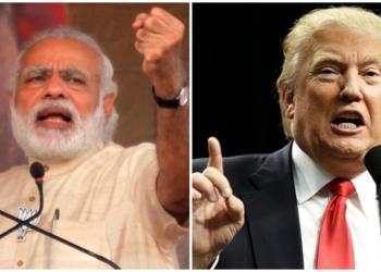 media Trump India