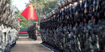 china nepal military drill