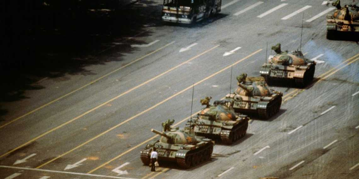 china republic tank man