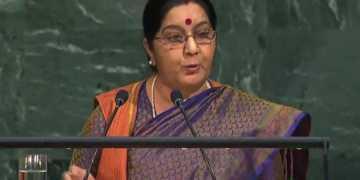 sushma swaraj unga