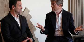 rahul gandhi Nicolas Berggruen interview