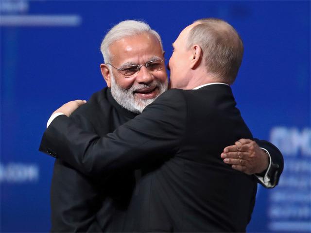 Modi Hug