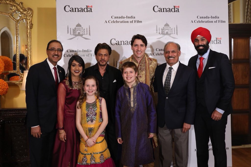 Trudeau Indian Outfits