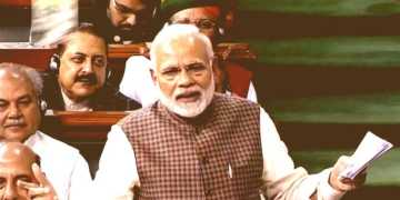 PM Modi Lok Sabha Speech