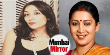 Zakaria mumbai mirror, smriti irani