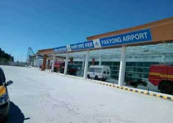 sikkim, airport, aviation