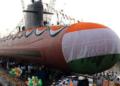 India, submarine, missile