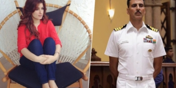 twinkle khanna, army man, uniform