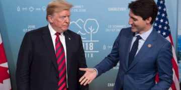 trump, trudeau, tariffs