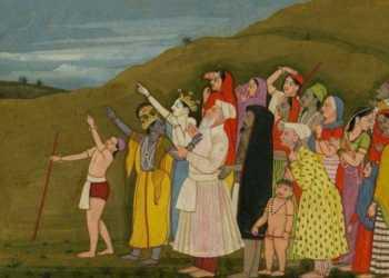 krishna, painting, eid
