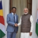 India, modi,Seychelles