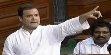 rahul gandhi, no confidence motion, hug
