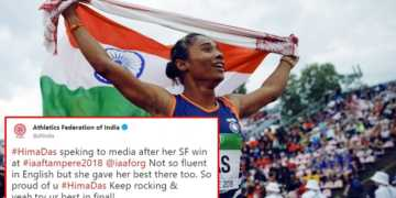 hima das, english, afi