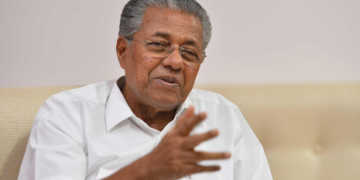 pinarayi vijayan, treatment,kerala, floods us