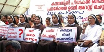 nuns, church, rape, kerala