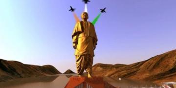 statue of unity, pm modi