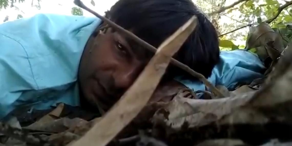 Naxals, journalist
