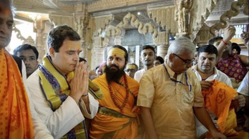 Rahul Gandhi Durga Puja