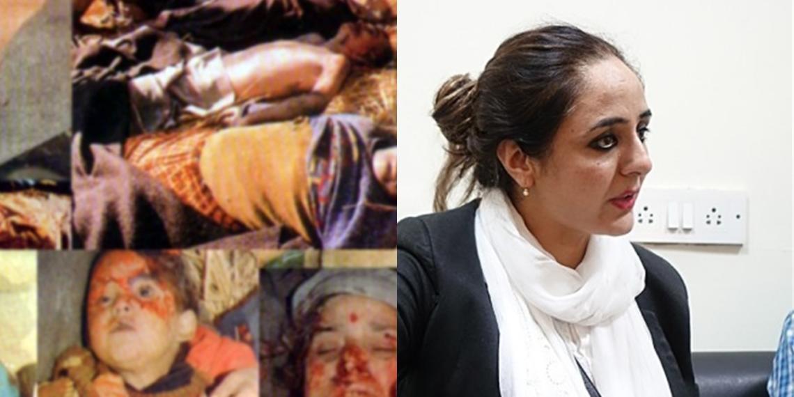 kashmiri pandit, genocide, deepika rajawat