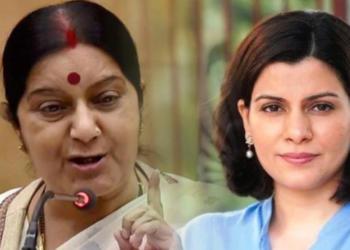 Sushma Swaraj, Nidhi Razdan