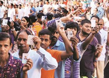 Telangana, Rohingy, voters