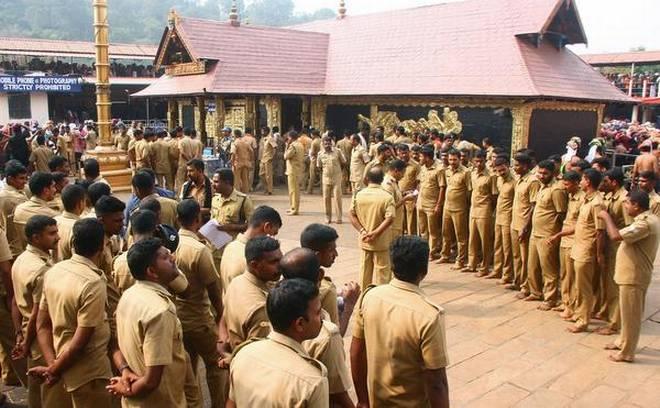 Pinarayi Vijayan, Sabarimala