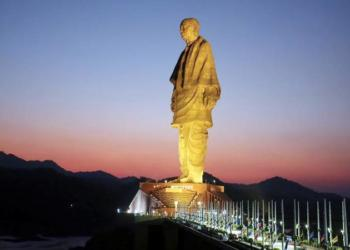 Railways, statue of unity