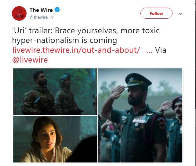The Wire, Uri
