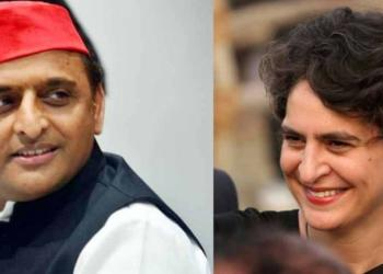 Akhilesh, priyamka, up congress, alliance