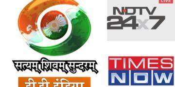 dd india, english news, channel