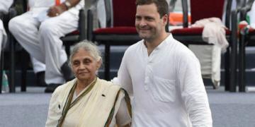 Sheila Dikshit, Congress
