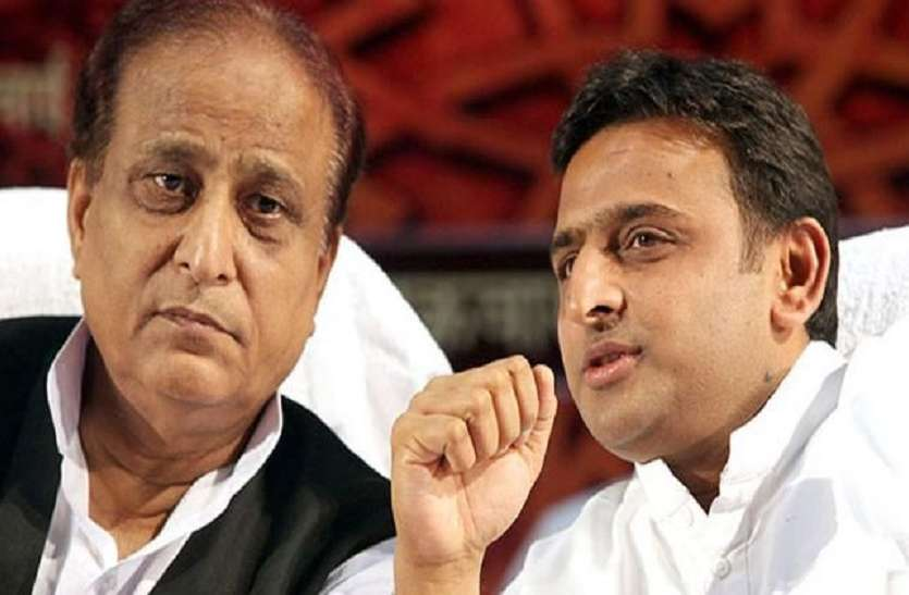 Samajwadi party supports reservation while Azam Khan opposes it