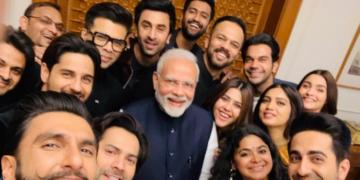 PM Modi, bollywood stars