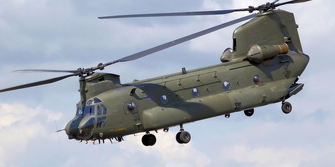 chinook helicopters, India