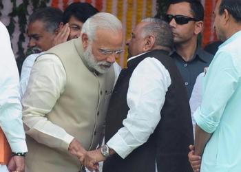 Mulayam, Modi, PM