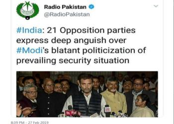 opposition parties, congress, pakistan, modi government