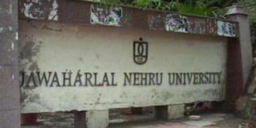 hindi language, JNU