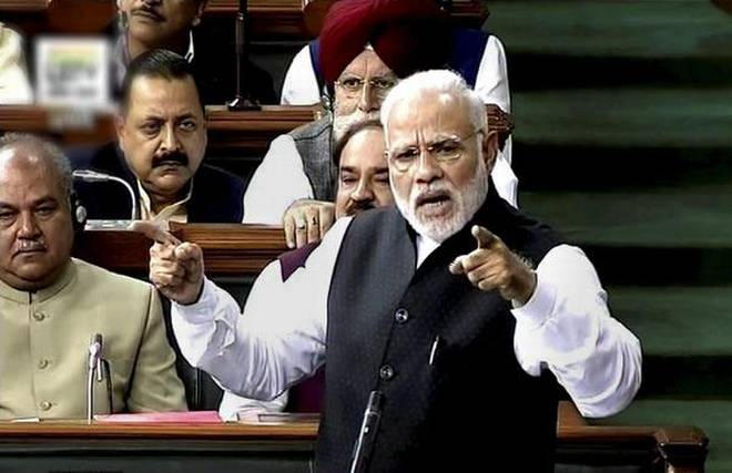 PM Modi, Lok Sabha, Speech