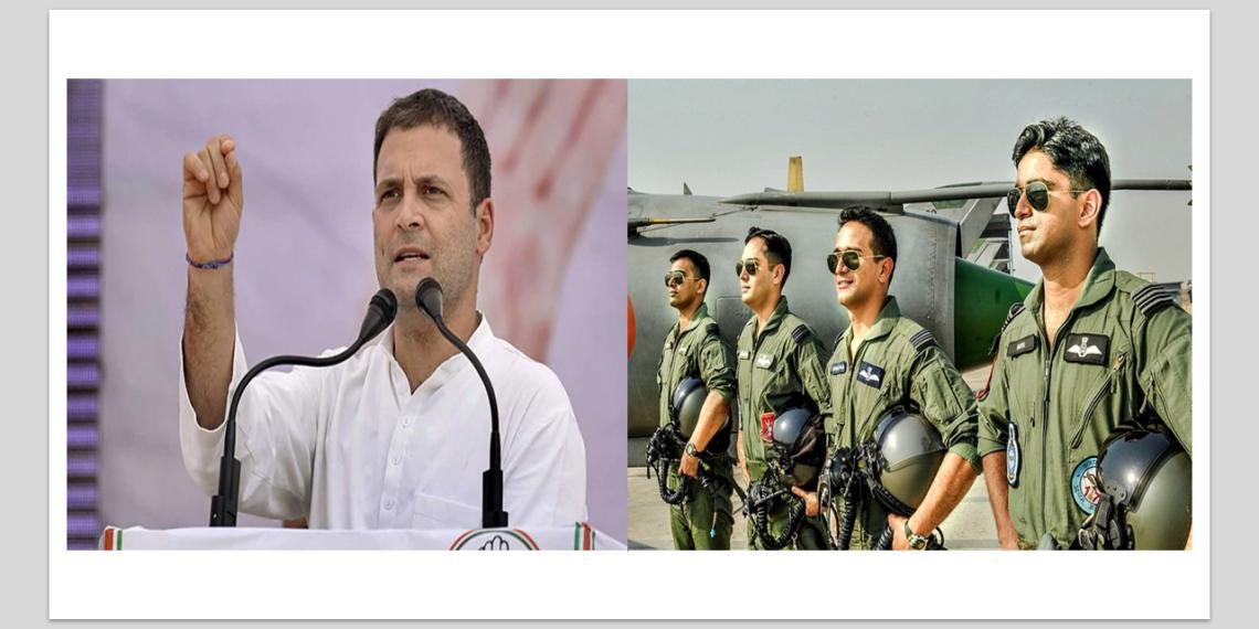 rahul gandhi, air force