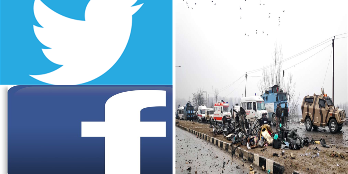 Pulwama Attack, Social Media, Sympathizers
