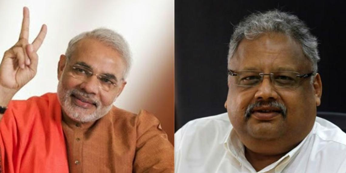Rakesh jhunjhunwala,modi government