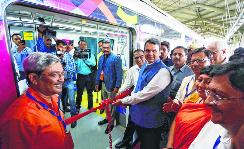 Fadnavis, government, Mumbai Metro, Congress