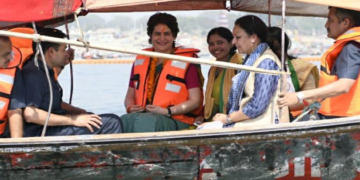 priyanka vadra, pm modi, waterways